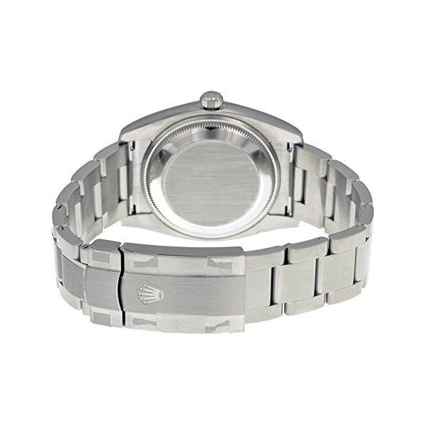 Fashion Shopping Rolex Airking Blue Arabic Dial Domed Bezel Mens Watch 114200BLASO [Watch] Rolex