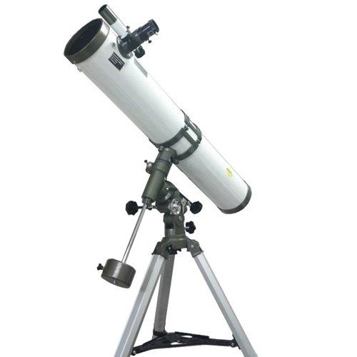 DYNASUN Spiegel Teleskop 114/900 EQ-1 Spiegelteleskop Reflektor Fernrohr mit Zubehör