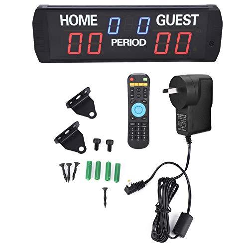 LDDLDG GI6T- (3 + 2.3) R Puntuación Electrónico LED Puntuación Digital Guardián AU Plug 100-240VAC Puntuación Electrónica