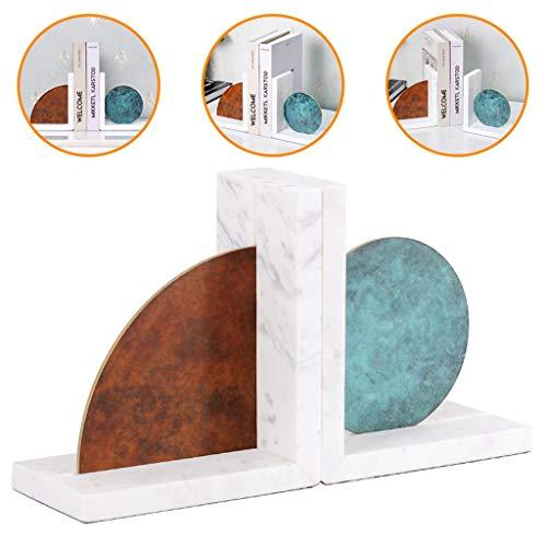 Boekenkasten Kasten, Rekken & Planken Marmeren bookend Kantoordecoratie Woonkamer salontafel decoratie Studeerbureau Kindermeubilair