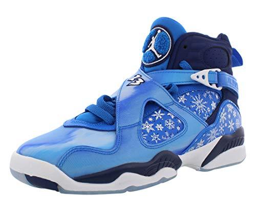 Nike Air Jordan 8 Retro Big Kid's Shoe Cobalt Blaze/Blue/Void/White 305368-400 (6.5 M US)