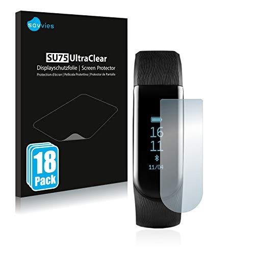 Savvies 18x Schutzfolie kompatibel mit Medion Life S2000 Bildschirmschutz-Folie Ultra-transparent