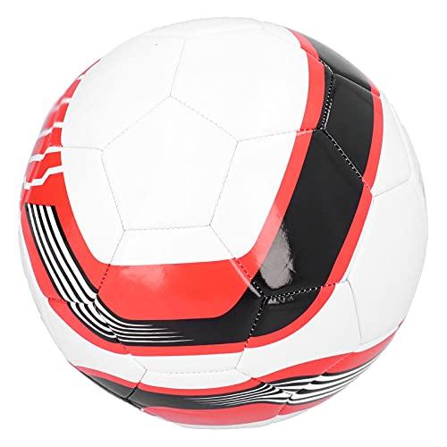 Calcio, Pallone da Calcio in Pelle PU n. 5 Professionale a Prova di Esplosione per l'allenamento di Calcio Professionale Giovanile per Principianti