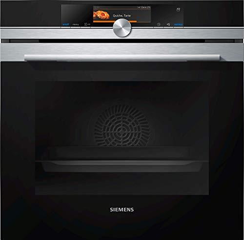 Siemens HS658GXS7 iQ700 Einbau-Dampfbackofen A+ / Smart Home kompatibel via Home Connect / coolStart-kein Vorheizen / Backsensor / 4D-Heißluft