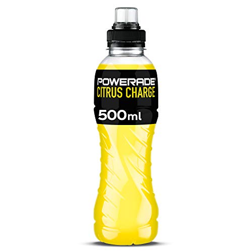 Powerade Citrus Charge - Bebida isotónica refrescante deportiva sabor cítrico - Botella 500 ml
