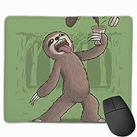ナマケモノのエネルギーブースト マウスパッド 25×30 大判 ノンスリップ 防水 ゲーミング おしゃれ マウスの精密度を上がる
