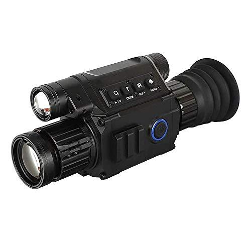 MQQ Wärmebildkamera 6.5X 12X Nachtsicht Zielfernrohr Fernglas mit eingebautem IR Illuminator, Aufnahme von Bild und Videowiedergabe