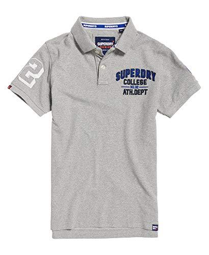 Superdry Superstate Shadow Poloshirt -  Grau -  Klein