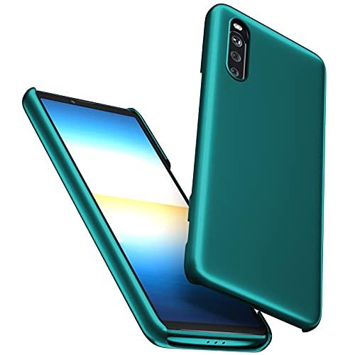 db11 Funda Compatible con Xiaomi Redmi Note 10 4g, [Ultra-Delgado] Anti-Rasguño y Anti-Huella Protectora Caso Plástico Duro Cover para Redmi Note 10 4g (Azul)