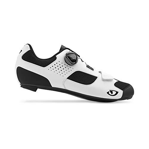 Giro Unisex Trans (boa) Road Radsportschuhe - Rennrad, Mehrfarbig (White/Black 000), 46 EU