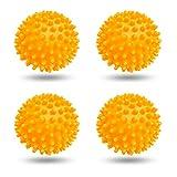 4 Stücke Trockner Ball,Trocknerkugeln Duft,Trocknerbälle für Wäschetrockner,Kugeln für Flauschigere Wäsche,Wiederverwendbare Dryer Balls,Wäsche Wäschetrockner Trocknen Ball