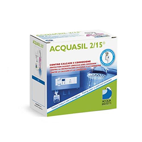 Acquasil 2/15 ricarica 1 kg anticorrosivo ed antincrostante pompe minidue PC104 acquabrevetti