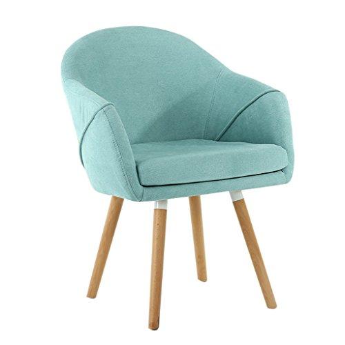 Chaise - Chaise d'ordinateur en tissu simple, banquette de balcon, chaise de salle à manger décontractée en bois massif, chaise de bureau stylée, chaise de canapé for réception de conférence (taille 4