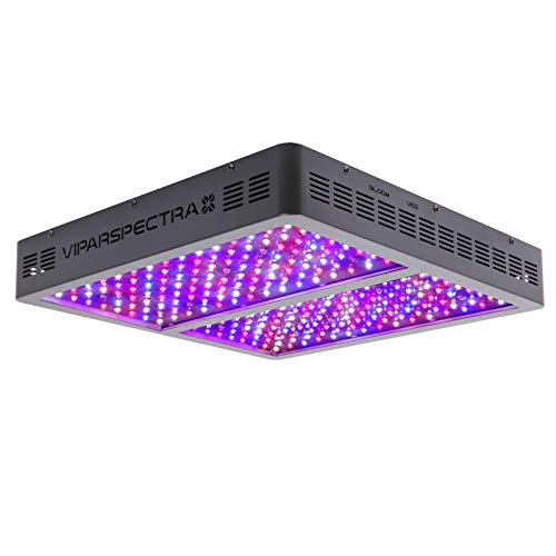 VIPARSPECTRA UL Certified 1200W LED Grow Light, with Veg and Bloom Switches, Full Spectrum Plant Growing Lights for Indoor Plants Veg and Flower