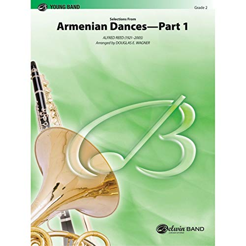 Alfred Reed-Armenian Dances, Part 1, Selections From-Concert Band-SET