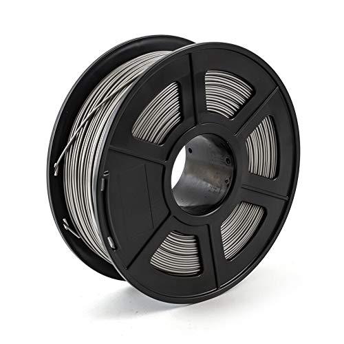 Without brand LSB-3D Prints, 1pc 3D Printer Filament PETG 1.75mm 1 kg / 2,2 LB en Plastique Filament Consommables PETG Matériel for imprimante 3D (Couleur : Grey)
