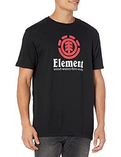 Element Vertical T-Shirt Homme, Flint Black, FR : L (Taille Fabricant : L)