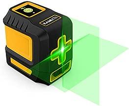 Laser Level, 98ft Green Self-Leveling Laser Line with Magnetic Base, with Adjustable Lightness Line Cross Laser Level for Picture Hanging - KAIWEETS T03
