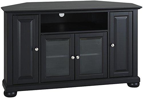 Big Sale Crosley Furniture Alexandria 48-Inch Corner TV Stand, Black