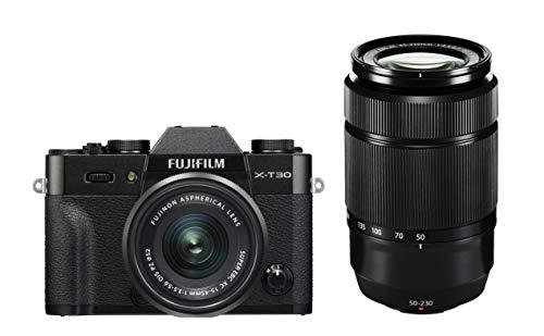 FUJIFILM X-T30 - Juego de Accesorios para cámara XC15-45mmF3.5-5.6 OIS PZ+XC50-230mmF4.5-6.7 OIS II