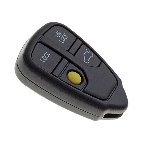 Télécommande Auto sans Lame de Haute qualité Ultra résistant: 4 Boutons Ouverture/Fermeture des Portes et du Coffre