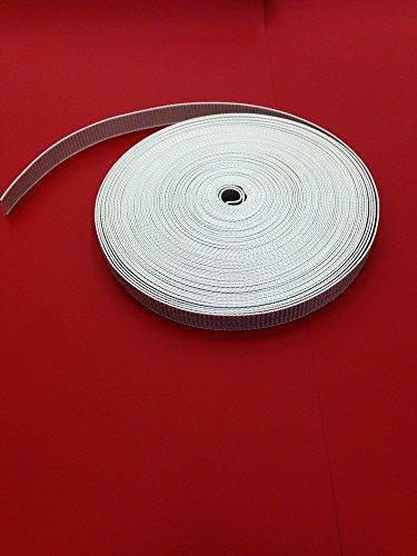 Easy-Shadow - Hochwertiger Rolladengurt Breite 14 mm x Länge 10 m - grau extrem Gurt für Rollladen Mini Gurtband 10 meter Gurtzugband Zugband für Rolladen Rolladenwickler Aufzuggurt Minigurt Gurtzug Gurtzugband - grau