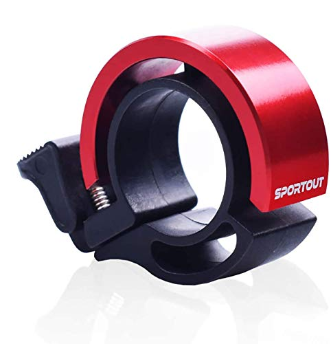 Sportout Mini Aluminiumlegierung Innovative Fahrradklingel Fahrrad Ring mit Lauten Klaren Klaren