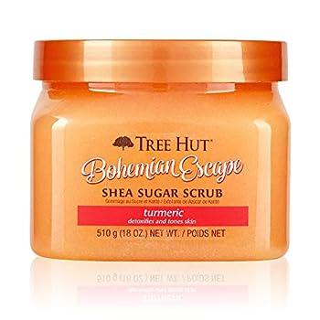 Tree Hut Bohemian Escape Shea Sugar Scrub Orange 18 Oz