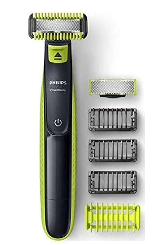 Philips OneBlade QP2620/20 Rasierer, Bartschneider, Körperhaartrimmer abwaschbar hellgrün, Dunkelg, 1 g