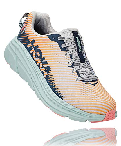 Hoka One One Women's Rincon 2 - Lunar Rock/black Iris - 7