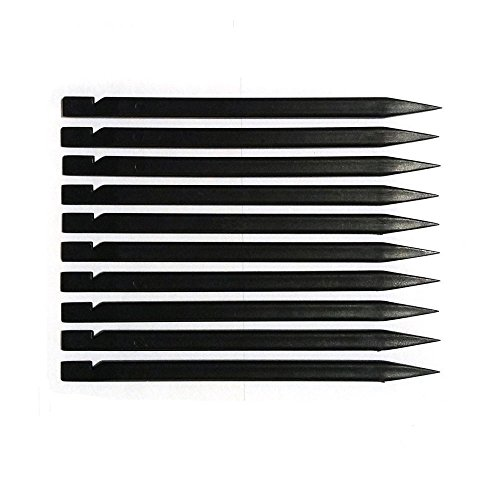 Fixinus 50 Pieces Universal Black Stick Spudger Opening Pry Tool Kit for iPhone Mobile Phone iPad Tablets Macbook Laptop PC Repair