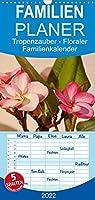 Tropenzauber - Familienplaner hoch (Wandkalender 2022 , 21 cm x 45 cm, hoch): Malerische Blueten in meinem Tropengarten aufgenommen. (Monatskalender, 14 Seiten )