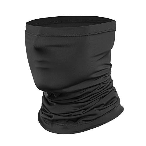 Schlauchschal Herren Damen, Multifunktionstuch Schlauchtuch Halstuch Kopfbedeckung Sturmhaube Elastiche Eisseidenfaser Kopftuch, Schlauch Stirnband Haarband UV Residenz für Motorrad Laufen Wandern