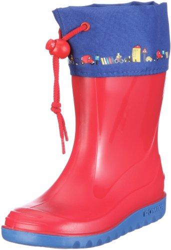 Romika Jerry, Stivali di Gomma Unisex-Bambini, Rosso (Rot-Blau 413), 20 EU