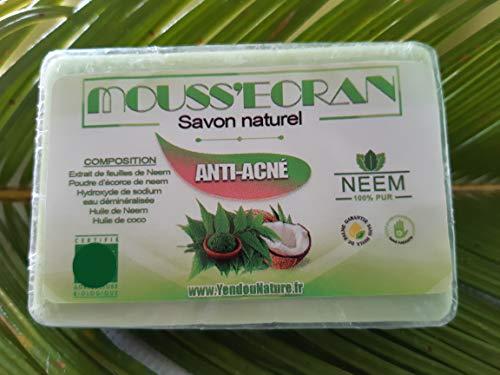 SAVON ANTI-ACNÉ - 100% NATUREL AU NEEM - 100 grammes