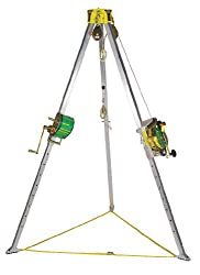 MSA Safety 10105271 Confined Space Entry Kit, Includes 8' Workman Tripod