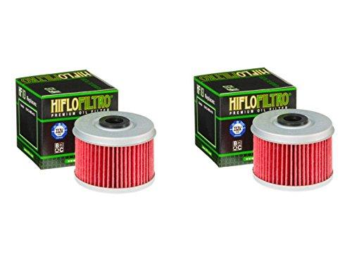 Hiflo Filtro HF113 Premium filtro de aceite compatible con TRX520 FE Fouttrax 4x4 ES EPS 20, TRX450 S/SE Fourtrax Foreman 98-02, TRX450 FM Foretrax Foreman S 03-04, TRX350 TE Fourtrax Rancher ES 00-06