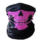 COMVIP Outdoor Erwachsene Skimaske Kälteschutz Gesichtsmaske Sturmhauben Maske Pink