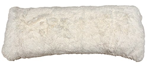 Brilliant Home Design Luxurious Faux Fur Body Pillow Cover...