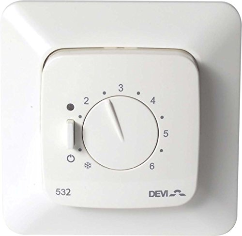 Devi Thermostat devireg 532 DE/at Raumthermostat/Uhrenthermostat 5703466209080