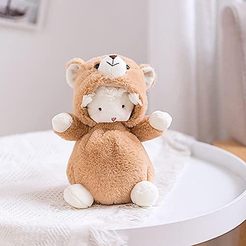 GUOGUODA Plüschtiere Plüschpuppe Baumwolle Cartoon Kreative Stofftier Spielzeuggeschenke für Kinder,Familie,Freunde Transformierte kleine...