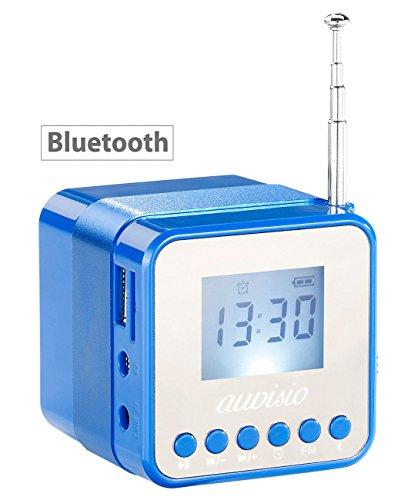 auvisio Mini Radio Würfel: Mini-MP3-Station MPS-560.Cube mit Radio, Wecker & Bluetooth, 8 Watt (MP3 Soundstations)