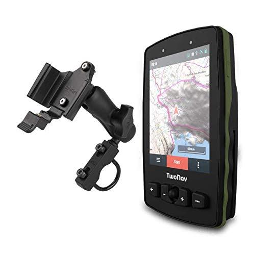 TwoNav - GPS Aventura 2 Motor - Auto Quad Moto/Joystick/Schermo 3,7' / Autonomia 36 h + Batteria rimovibile/Memoria 32 GB + Slot MicroSD/Scheda SIM/Carta topografica + stradali incluse