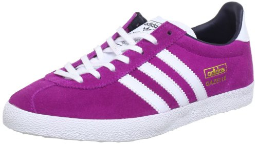 adidas Originals GAZELLE OG W Q20701, Damen Sneaker, Pink (VIVID PINK S13 / RUNNING WHITE FTW / LEGEND INK S10), EU 38 2/3 (UK 5.5) (US 7)