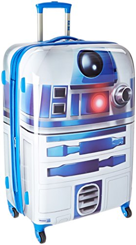 American Tourister Star Wars Hardside Luggage with Spinner Wheels, R2D2