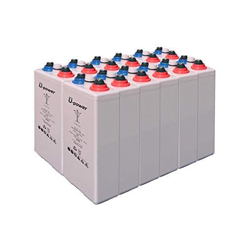 Bateria Solar Gel, 4 OPZV 200 24V Mas de 15 años de Vida