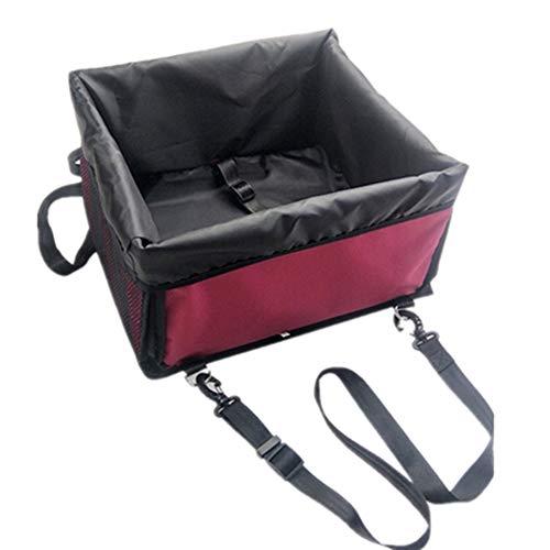 GXHGRASS Huisdier-drukverhoger, zitzak voor katten en honden, veiligheidsnestje om te slapen, handtas, opvouwbaar, draagbaar, versterking van de autohouder, voor huisdieren onder 6 kg