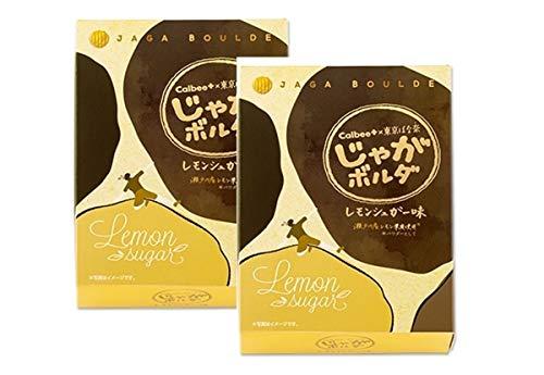 セット商品 Calbee+ × 東京ばな奈 じゃがボルダ (レモンシュガー味2個+国産もち米あられ1個セット)