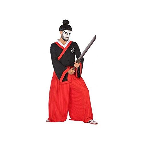 Atosa-53872 Disfraz Japonés, Color Rojo, M-L (53872)
