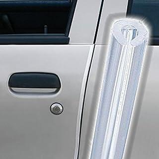 AutoScheich® Türkantenschutz Transparent Türschutzleisten Türkantenschoner selbstklebend Set 2x 65cm für Auto KFZ LKW Transporter Caravan